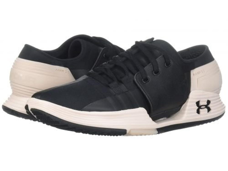 Under Armour(アンダーアーマー) レディース 女性用 シューズ 靴 スニーカー 運動靴 UA Speedform Amp 2.0 - Black/French Gray/Black [並行輸入品]