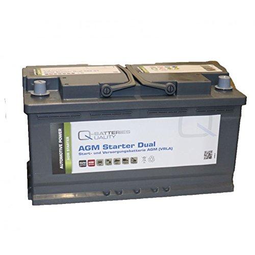 Preisvergleich Produktbild Q-Batteries Starter- und Versorgungsbatterie AGM 12V 92Ah 850A 592 01
