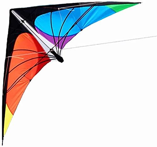 ZHEYANG Drache Kite Drachen Kites für Erwachsene Lenkdrachen Dual Line Sport Kite Inklusive Kiteleine und Tasche, Einstellbares Kabeldesign, Geeignet zur Einstellung verschiedener Windrichtungen Kite