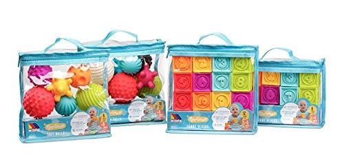 Bolsa Cubos sensoriales 8 pcs Molto