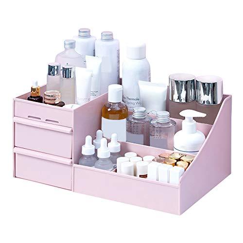 Tangzhan Kosmetik-Aufbewahrungsbox, Kosmetik-Box, Organizer, vielseitige Sortierbox, Make-up-Aufbewahrung, Schmuck Nagellack Behälter mit Schubladen