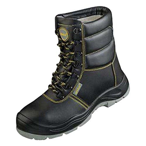 Winter-Schnürstiefel Sicherheits-Stiefel Sicherheitsschnürstiefel S3 SRA SEESEN EN ISO 20345:2011 Weite 11 - schwarz - Größe: 43