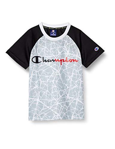 [チャンピオン] Tシャツ スクリプトロゴ ボーイズ スポーツ CK-TS307 シルバーグレー 140