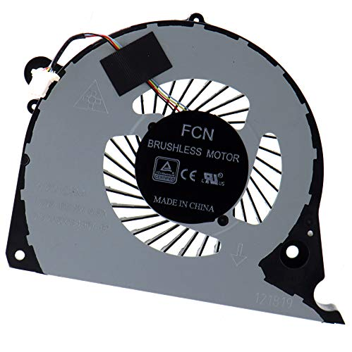 Deal4GO CPU Cooling Fan DFS2000054H0T FJQS for Dell Inspiron 15 7577 7588 G5-5587 G7-7577 G7-7588 P72F