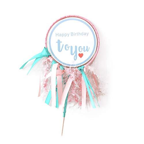 BESTOYARD Glitter Dromerige Prinses Stijl Taart Toppers Ballerina Cupcake Picks voor Meisjes Verjaardag Thema Party Decoratie
