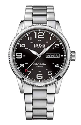 Hugo Boss Men's Analogue Quartz Watch with Stainless Steel Bracelet – 1513327