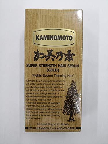 Kaminomoto Super Strength Hair Serum Gold, 150 ml, Japan-Bestseller gegen Haarausfall