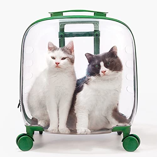 Bolsa para Mascotas Trolley Case out Maleta Portátil Mochila para Perros Cápsula Espacial de Gran Capacidad Grande para Fiesta de Viaje