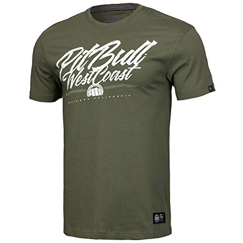 Pit Bull West Coast T-Shirt, So Cal 18, Olive Größe XL