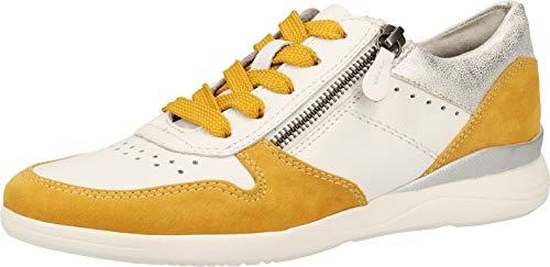 Jana Softline Damen 8-8-23751-24 Sneaker, Gelb (Saffron 627), 39 EU