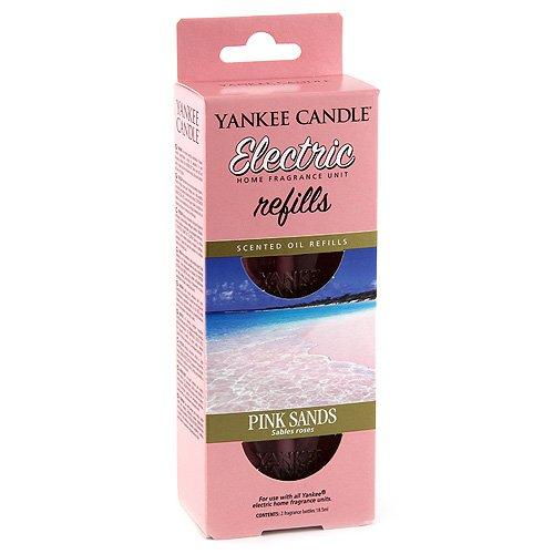 Yankee Candle 1238409E Pink Sands diffusore Elettrico Doppio Confezione di Ricarica, Multicolore, 4.5x7x17 cm