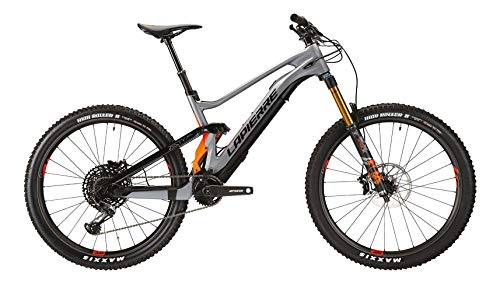 Lapierre eZesty AM LTD 27.5R Fazua Fullsuspension Elektro All Mountain Bike 2020 (XL/50cm, Grau/Orange)