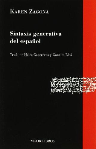 Sintaxis generativa del español (Gramática del Español)
