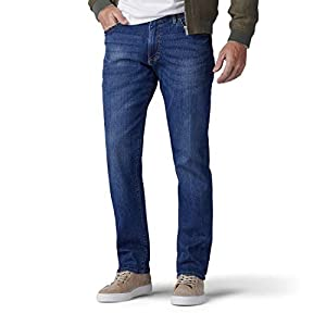 Lee Men's Big & Tall  Extreme Motion Straight Fit Tapered Leg Jean