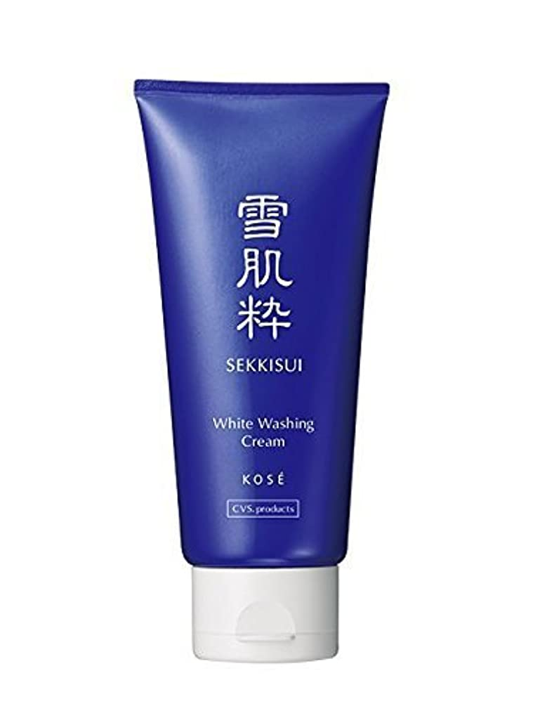 佐賀入口ハンマー雪肌粋 Kose Sekkisui White Washing Cream - 80g