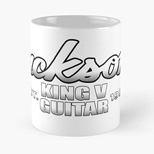 V Guitar Metal Jackson Heavy Shred King Musics OverdriveBest 11 oz Kaffeebecher - Nespresso Tassen Kaffee Motive
