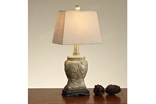 POUNDEX PDEX-F5385 Table Lamp, Set of 2, Multi