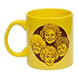Golden Girls 'Stay Golden' 20 Ounce Coffee Mug - Collectibles TV Merchandise - Large Novelty Kitchen Accessory Cup - Perfect for Birthdays, Holidays, Housewarming Parties