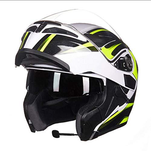 Casque moto hommes et femmes casque de moto anti-buée (taille : L(58-59cm0)