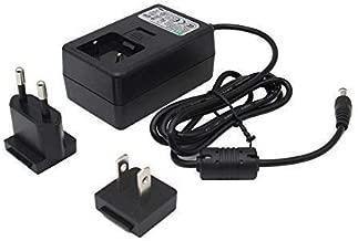 Geekworm DC 5V 4A Power Adapter with EU & US Plug DC 5.5x2.5 for Raspberry Pi X820/X825 SATA Expansion Board/ X700 UPS/ X720/ X735 Power Management Board/Jetson Nano/X822/X852/T300/T100/T200/X750