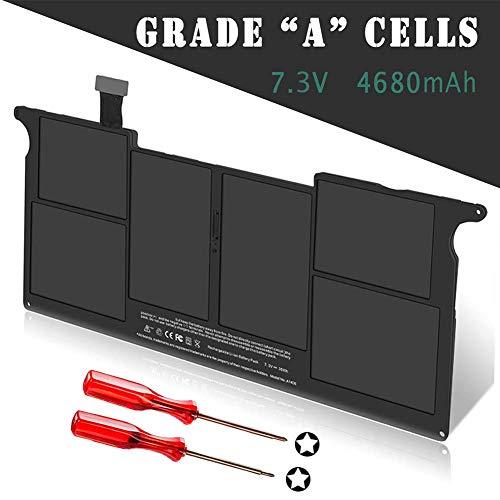 "A1406 Batería Portátil para Apple MacBook Air 11"" A1495 A1370 (versión 2011), 020-7376-A 020-7377-A MC968 MC969 MC965 MC506LL MC969LL [Li Polymer 7.3V / 35Wh]"