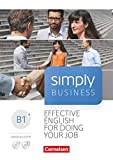 Simply Business - B1+: Coursebook - Mit Video-DVD, Audio/MP3-CD und PagePlayer-App - Angela Lloyd