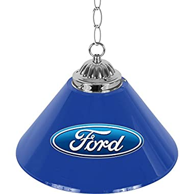 Trademark Gameroom Ford 14  Single Shade bar Lamp - Ford Oval