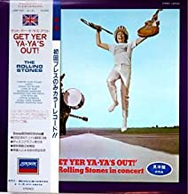 Get Yer Ya-Yas Out! (Rolling Stones In Concert) - BLUE sample Japanese pressing with OBI strip