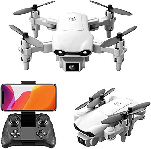 YYAI-HHJU Drone GPS, Mini WiFi FPV Drone con Cámara Dual 4K Drones con Gafas De Realidad Virtual Drone Plegable Cuadricóptero RC Foto De Gesto Una Tecla para Regresar A Casa Ruta De Vuelo 3