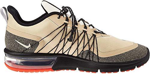 Nike Herren Air Max Sequent 4 Utility Leichtathletikschuhe, Mehrfarbig (Desert Ore/Reflect Silver/Black 202), 44.5 EU