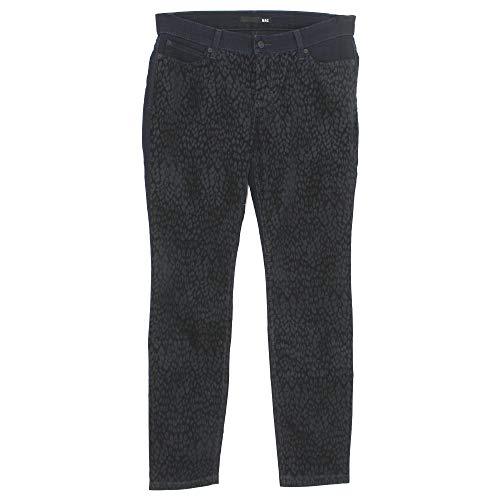 Mac, Skinny Divided, Damen Damen Jeans Hose Velour Stretchdenim Leovelour Maineblau D 44 L 32 Inch 34 [20978]