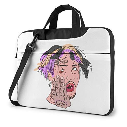 Lil peep Shoulder Shockproof Laptop Bag Laptop Sleeve Case Ultra-Slim Laptop Computer Pouch Bag 13 inch