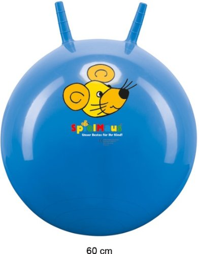 SMO Sprungball Mini 35cm sortiert. Sie erhalten 1 Stück aus dem Sortiment.