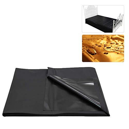 HGFLYL 2.2x2m Wasserdicht Bettlaken Erotikspiele für Paare Bettwäsche (Schwarz)