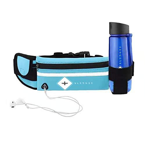 Sledgee Water Filter Fles met 2 Stage Geïntegreerde Filtratie Systeem - verwijdert geur .zero na smaak BPA free-Gebouwd in kompas sport outdoor fles met stro met GRATIS Water Fles Carrier