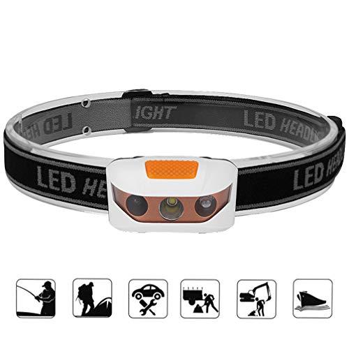 Asolym LED-Scheinwerfer Mini tragbarer Infrarotsensor Scheinwerfer Außenleuchten Camping Beleuchtung Nachtfischen lights2 Arten von Schaltmodus 3 Arten von Beleuchtungsmodus