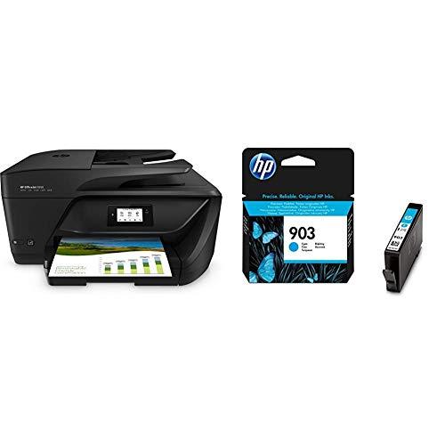 HP OfficeJet 6950 P4C85A Stampante Multifunzione a Getto di Inchiostro, Stampa, Scannerizza & 903 (T6L87AE) Cartuccia Originale per Stampanti HP a Getto di Inchiostro