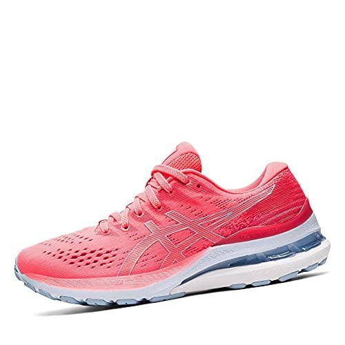ASICS Gel-Kayano 28, Chaussures de Course de Route. Femme, Blazing Coral Mist, 38 EU
