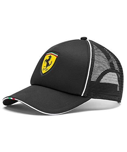 [ Ferrari ] スクーデリア フェラーリ オフィシャル SF メッシュ CAP (ブラック)