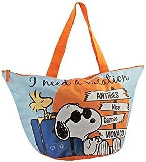 Peanuts Time To Go Beach Bag, 6 cm, Multi-Colour