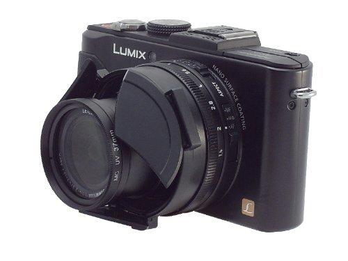 Spezial Automatik Objektivdeckel für Panasonic Lumix DMC LX-7 und Leica D-LUX 6 - Bitte Hinweis beachten -