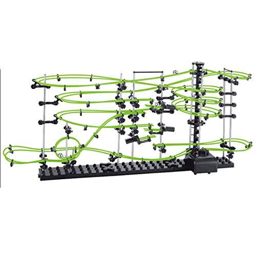 AMITAS - Kugelbahnen in 299pcs, Größe 78 x 16 x 33cm