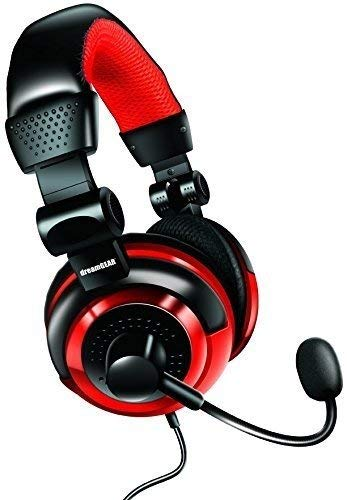 Price comparison product image dreamGEAR Universal Elite Amplified,  Wired Stereo Gaming Headset - Nintendo Switch Lite / Switch / PS4 / Xbox One / PC