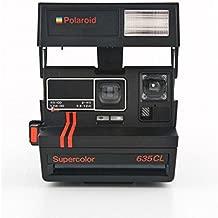 Polaroid Instant Camera 635CL red stripes