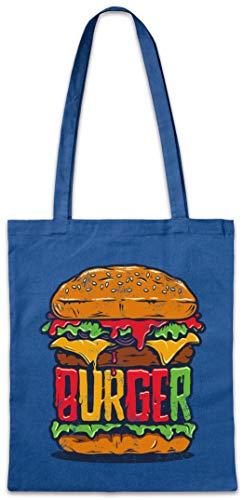 Urban Backwoods Burger Hipster Bag Beutel Stofftasche Einkaufstasche