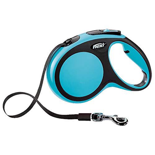 Flexi CR04100AZ New Confort Laisse pour Chien Bleu Taille XS