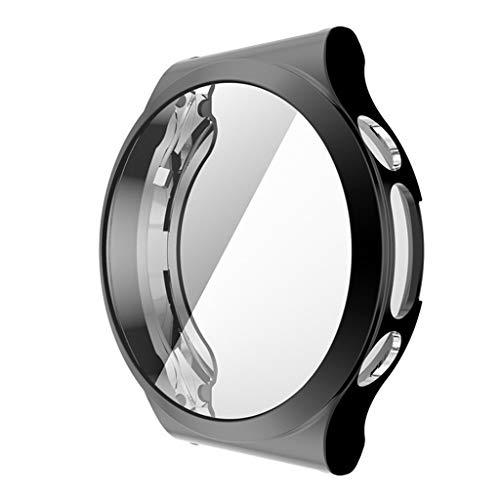 unknows Shell Edge Frame - Funda completa para Hua-Wei-Watch GT 2 Pro ECG Strap GT2 Pro