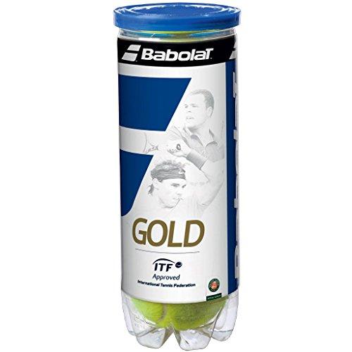 Babolat Gold Pet X3 Pelota de Tenis, Unisex Adulto, Amarillo, Talla Única