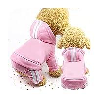 冬の暖かい犬服子犬猫ジャケット小型犬用チワワパグ服ペットブルドッグ衣装用品-C1-L