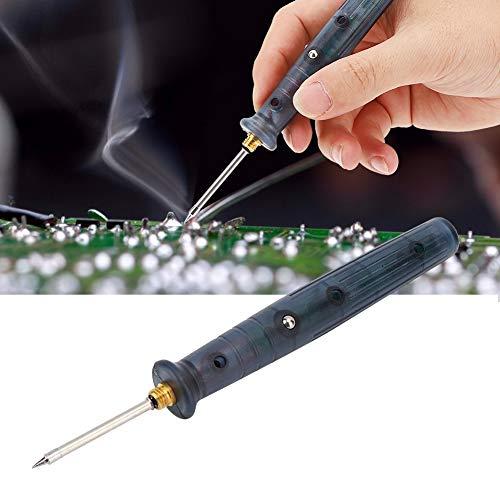 Soldador USB Soldador eléctrico, Plástico 450-480 ℃ DC 5V Hogar Aficionados al bricolaje para soldadura Placa de circuito Reparación de electrodomésticos Joyería Soldadura